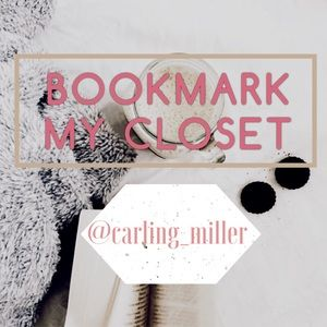 🌻BOOKMARK MY CLOSET🌻